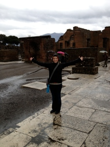 Finally getting to visit Pompeii after reading a book about it when I was 12 years old...
