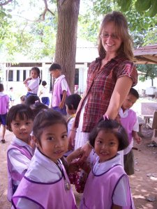 These little ones just wanted to hold my hand for the majority of our breaks.  I was totally okay with that :)