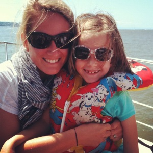 Reunited in summer 2012 with this sweetheart, who recently said she'd enjoy school more if I were her teacher (adorable).