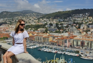 I don't always wear cute dresses and gaze out over the harbour in Nice, but when I do, you better believe it's when I'm on a road trip through the French Riviera while thinking about stories to tell my students back at home.