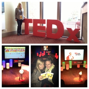 A snippet of the great weekend Jess and I spent together at TEDx Victoria.