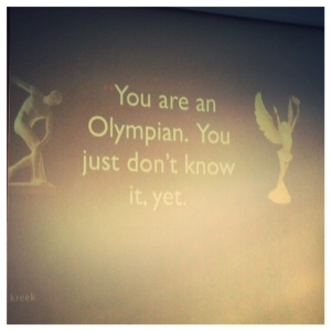 Words one of Adam's coaches shared with him before he realized he wanted to be an Olympian.