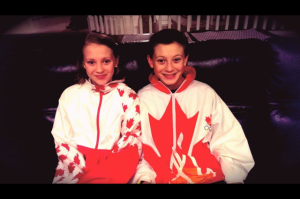 "Camille's children, Micah and Anastasia, dug out their mama's Team Canada jackets and wore them during Sochi's Opening Ceremonies.  They said, ""Mom, these Games are important because they are about dreams..."""