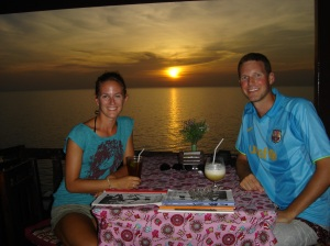 2007: We spent four months in South East Asia.  This photo was taken in Koh Chang, one of our favourite places on earth.