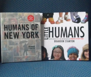 I bought our own versions of Humans of New York for Christmas this year.